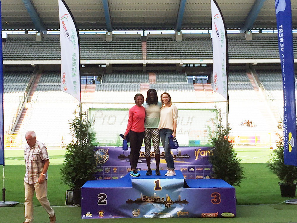 Sirena Alise places second in brussels grand prix
